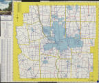 1955 Franklin County Highway Map...