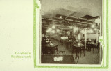 Interior view of the Coulter Brothers Cafeteria restaurant, photograph