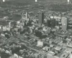 Aerial Photo of Downtown Columbus Looking Northwest