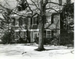 Anson Davis house, south elevation