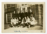 First basketball team, Violet Township High School