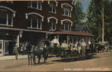 Rapid transit, Middletown, Ohio, postcard