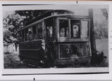 Mt. Vernon Railway and Light Company, car #1222, photograph