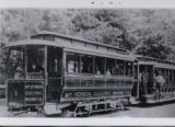 Mt. Vernon Electric Railway, car #1, photograph