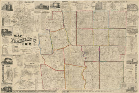 Columbus and Ohio Map Collection -