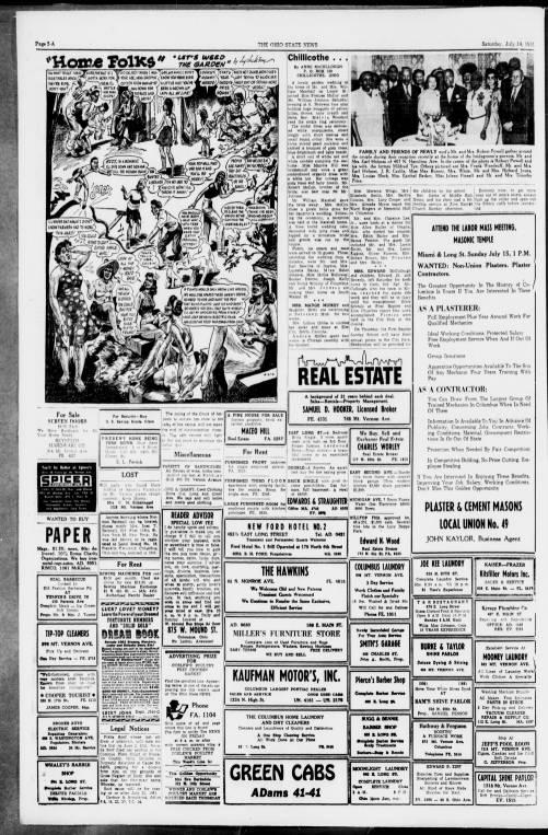 The Ohio State News Columbus Ohio 1951 07 14 Columbus