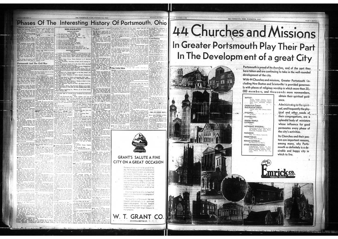 Portsmouth Times 1938-09-14 to 1938-11-190188 - Garnet A. Wilson Public  Library of Pike County Digital Collection -