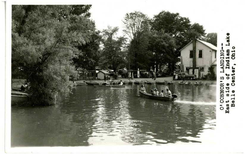 Bellecenter00001a Ohio Postcard Collection