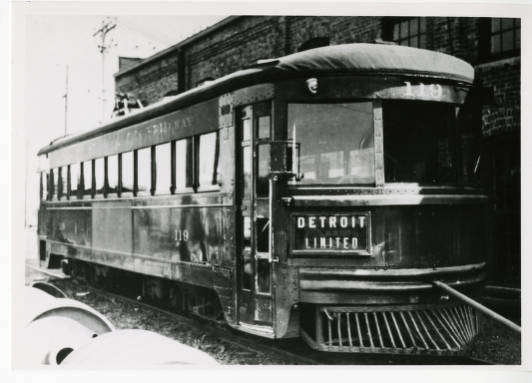Cincinnati and Lake Erie Railroad Company (C&LE), car #119