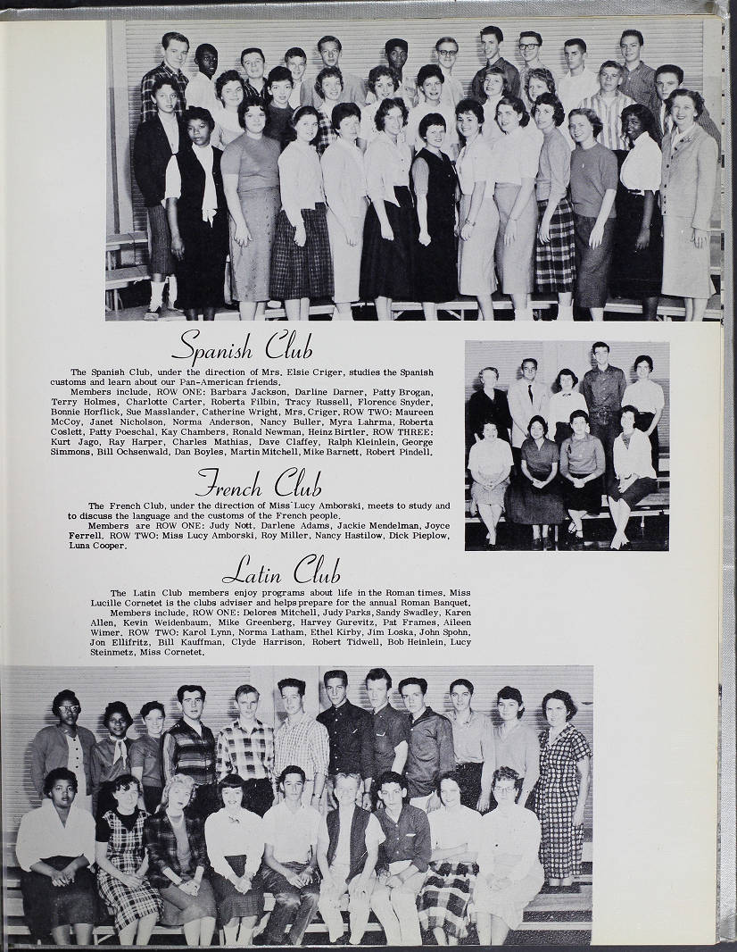South High School Lens 1959 060 Columbus And Ohio Yearbook Collection