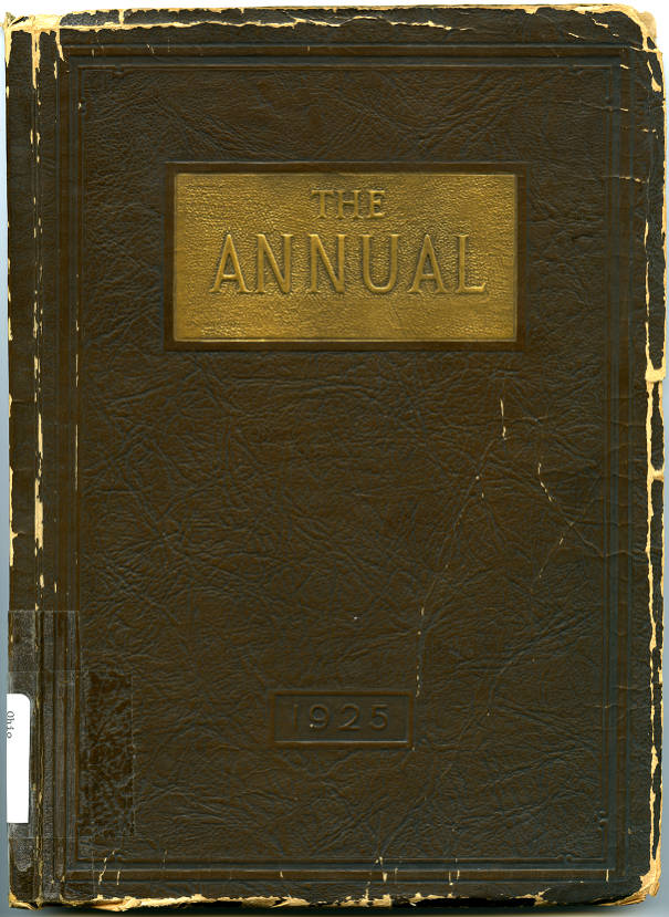 1925centralhs001 Columbus Yearbook Collection